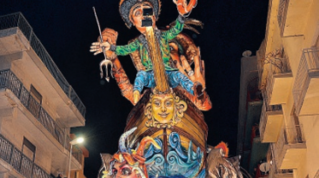 buste, carnevale di sciacca, Carro vincitore, Agrigento, Società