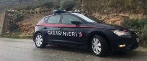 I carabinieri in contrada Sant'Onofrio