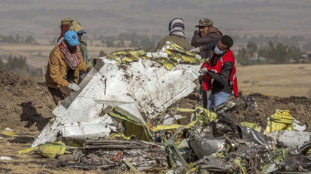 aereo caduto, Ethiopian Airlines, scatola nera, Sicilia, Mondo