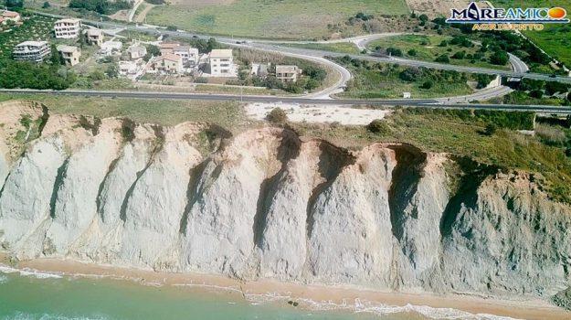 costa agrigentina, mareamico, strada Agrigento-Porto Empedocle, Nello Musumeci, Agrigento, Cronaca