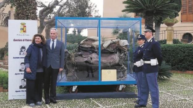 auto del giudice Falcone, caserma Anghelone, Giovanni Falcone, Agrigento, Cronaca
