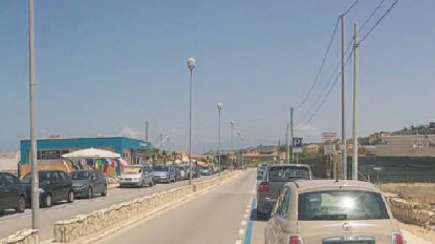 castellammare, parcheggi privati, strisce blu, Trapani, Cronaca