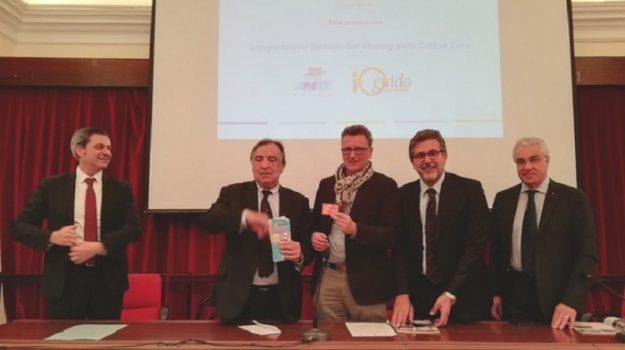 car sharing, mobilità, Leoluca Orlando, Maurizio Dipietro, Enna, Palermo, Economia