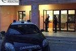 Sopralluogo dei carabinieri all'istituto Gagliardi di Ragusa