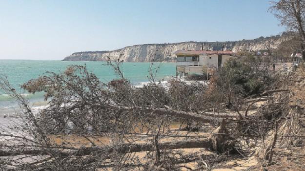eraclea minoa, Erosione Costiera, Agrigento, Cronaca