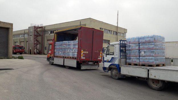 Acqua potabile, vigili del fuoco, Antonio Di Malta, Agrigento, Cronaca