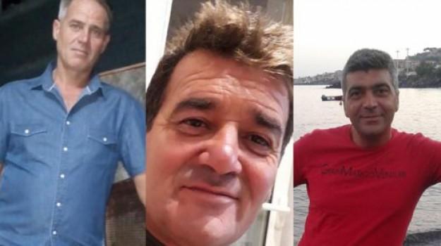 giovani dispersi acireale, sub Acireale, Enrico Cordella, Giorgio Condorelli, Nino Fichera, Rosario Fichera, Catania, Cronaca