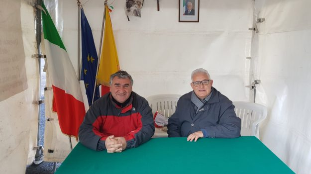 Polizzi, tenda, Giuseppe Lo Verde, Palermo, Politica