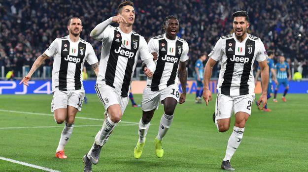 avversaria Juve, Chamapions, Juventus, Sicilia, Calcio