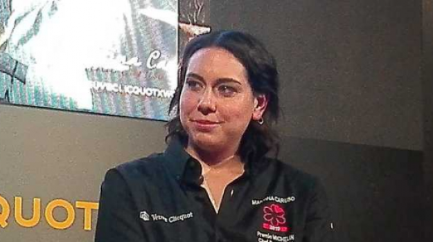 chef, premio Michelin, salina, Martina Caruso, Messina, Economia