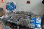 Messina, 20 chili di marijuana in due sacchi: arrestato 19enne
