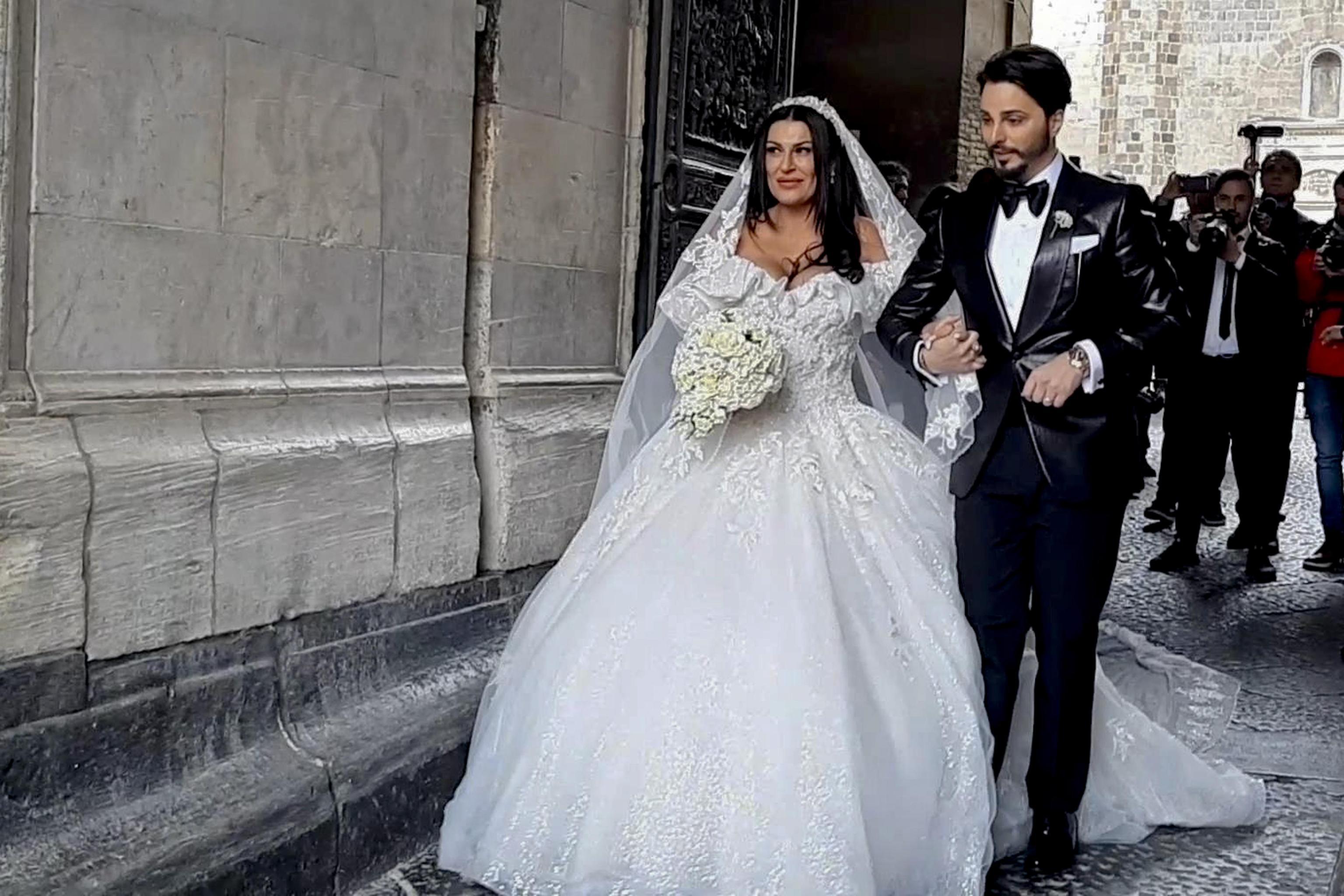 """Il matrimonio di Tony Colombo e Tina Rispoli, il cantante: """"Il"""