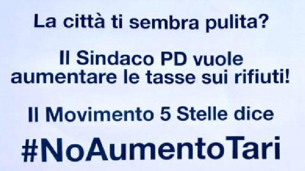 m5s, no tari, tari, Palermo, Politica