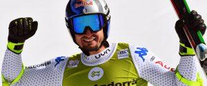 Dominik Paris vince la discesa a Soldeu