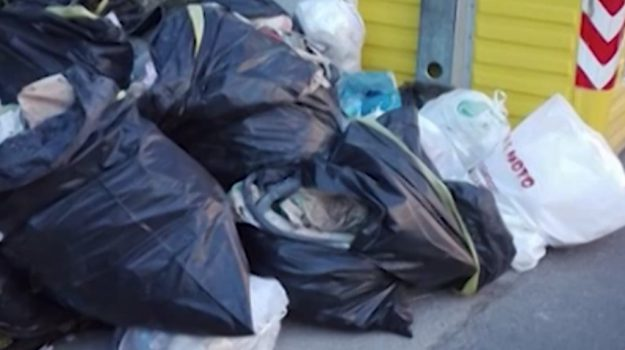 multe, polizia municipale, rifiuti, Palermo, Cronaca