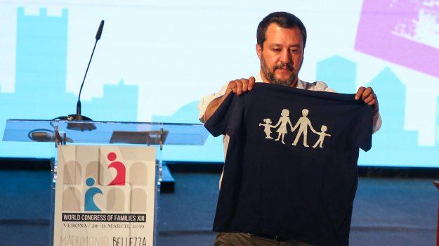 Congresso famiglia, M5s Lega, verona, Luigi Di Maio, Matteo Salvini, Sicilia, Politica