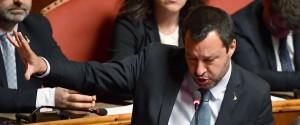 """Caso Diciotti, Salvini al Senato: """"Per andare a processo dovrei mentire"""""""