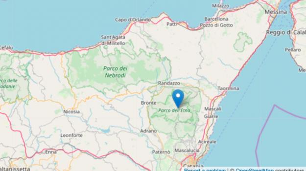 magnitudo, milo, scossa, terremoto, Catania, Cronaca