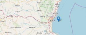Trema la terra nel Catanese, stamattina registrata una scossa di magnitudo 2.2