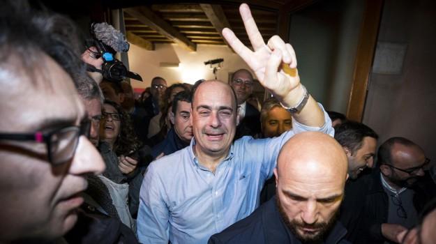 pd, primarie, segretario, Nicola Zingaretti, Sicilia, Politica