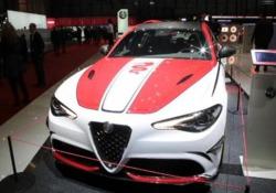 A Ginevra Alfa Romeo al centro della scena Al Salone dell'auto è stata svelata la concept ibrida - LaPresse