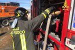 Caltanissetta, a fuoco un appartamento: all'interno 6 bombole di gas, si indaga