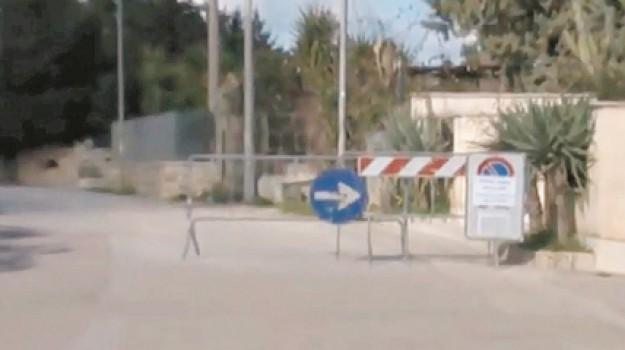 Alcamo, via per camporeale, Vittorio Ferro, Trapani, Cronaca