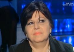 Anna Maria Barbera a «Domenica In»: «Ho passato un periodo difficile, ma non voglio più parlarne...» Anna Maria Barbera si sfoga a «Domenica In» - LaPresse