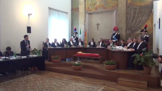 Anno giudiziario, tar, Calogero Ferlisi, Palermo, Cronaca