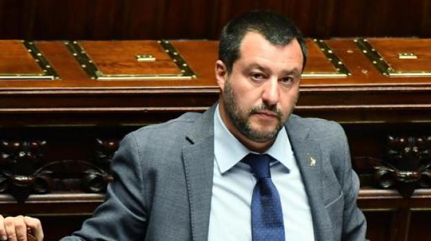 Lega, salvini a palermo, Matteo Salvini, Palermo, Politica