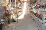 Siracusa, il cimitero di contrada Fusco devastato dalla furia dei vandali