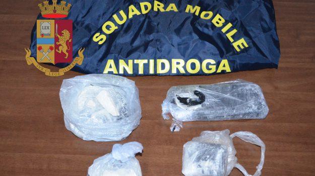 arresto, droga, polizia, Trapani, Cronaca
