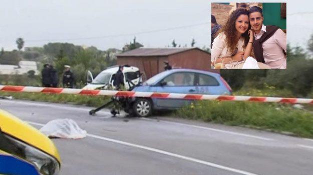 campobello di licata, Incidenti, ravanusa, Salvatore Calafato, Ylenia Giurdanella, Agrigento, Cronaca