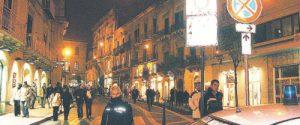 Caltanissetta, in settimana le nuove lampade in corso Vittorio Emanuele
