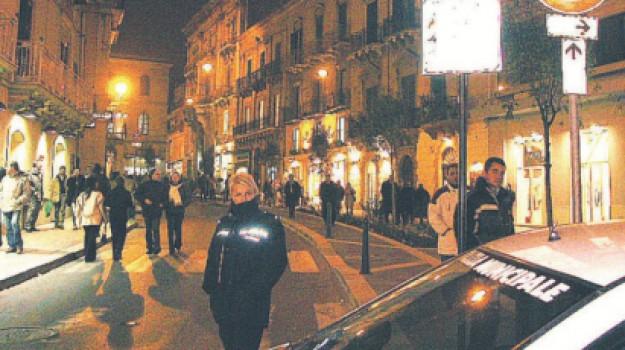corso vittorio emanuele, illuminazione, Giuseppe Tumminelli, Caltanissetta, Cronaca