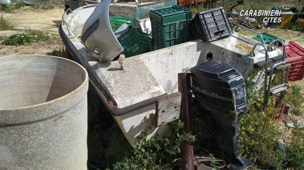 campobello di mazara, DISCARICA, sequestro, Trapani, Cronaca