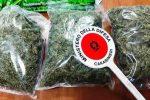 Catania, minorenne prende in consegna 1 Kg di marijuana: due arresti