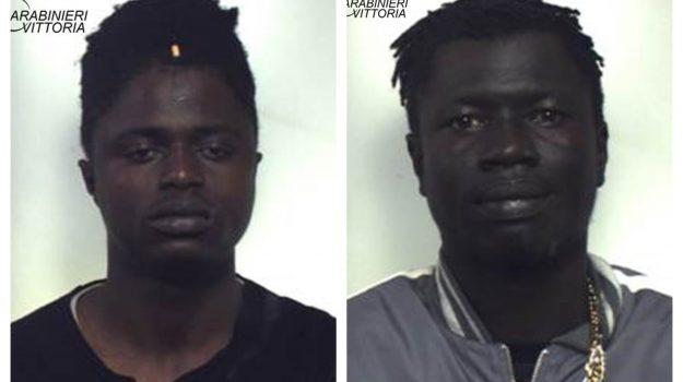 comiso, droga, Abdoulie Manka, Mamadou Sire Diallo, Ragusa, Cronaca