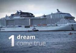 Ecco «Bellissima», la nuova nave da crociera di Msc: il time lapse Il varo a Southampton, in Inghilterra - Corriere Tv