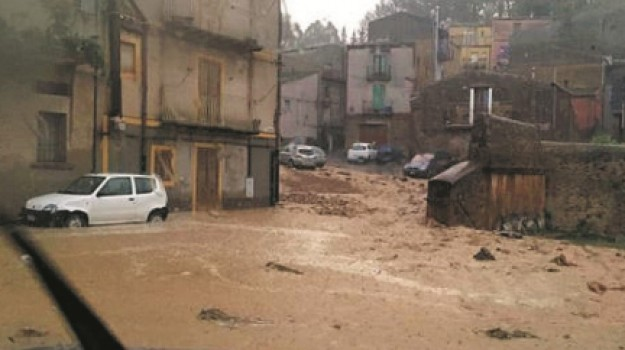 alluvione a Enna, calamità naturale, stato di calamità, Enna, Cronaca