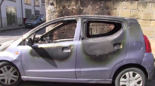 auto bruciata, libera, Chiara Natoli, Don Ciotti, Palermo, Cronaca