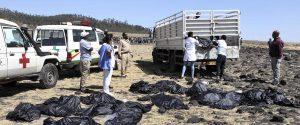 Aereo caduto in Etiopia, il ritrovamento dei corpi