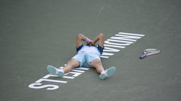 Indian Wells, Tennis, Thiem Federer, Dominic Thiem, Roger Federer, Sicilia, Sport