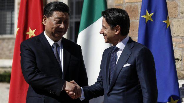 via della seta, Xi Jinping a Roma, Xi Jinping, Sicilia, Politica
