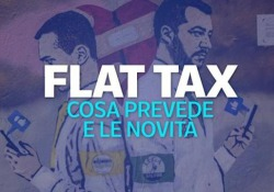 Il 15% di tasse fino a 65 mila euro di reddito: che cosa è la flat tax e a chi si applica oggi Il provvedimento cavallo di battaglia della Lega potrebbe venire esteso anche ai lavoratori dipendenti secondo quando dichiarato dal vicepremier Matteo Salvini. Ecco come funziona adesso - Corriere Tv