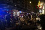 Incendio in un negozio di tessuti a Catania, nessun ferito
