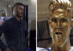 La statua è orrenda: Beckham impallidisce Il Los Angeles Galaxy è una squadra dallo spiccato senso dell'umorismo - Dalla Rete