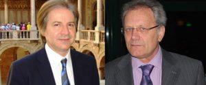 L'ex deputato Giovanni Lo Sciuto e il medico Rosario Orlando