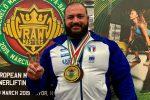 Powerlifting, il messinese Michele Peluso convocato per gli Europei