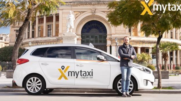 app, mytaxy, Taxi, Leoluca Orlando, Palermo, Economia